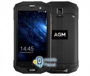 AGM A8 3/32GB Black/Silver