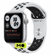 Apple Watch Nike Series 6 40mm Silver Aluminium Case with Pure Platinum Black Nike Sport Band