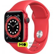 Apple Watch Series 6 (GPS Cellular) 40mm (PRODUCT) RED Aluminum Case with (PRODUCT) RED Sport Band (M02T3/M06R3)